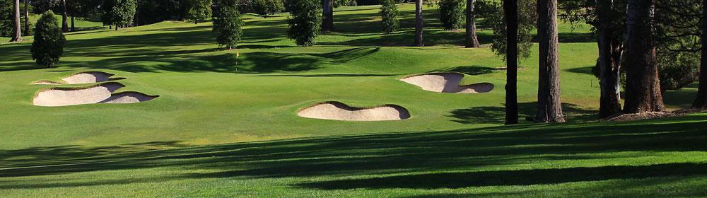 Hole 1 - Pennant Hills Golf Club